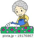 ガーデニングおばあちゃん 19176867