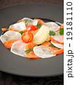 カルパッチョ 前菜 サーモンの写真 19181110