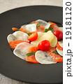 カルパッチョ 前菜 サーモンの写真 19181120
