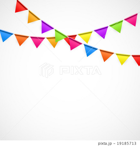 Party Background with Flags Vector Illustrationのイラスト素材 [19185713] - PIXTA