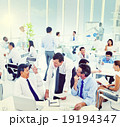 Group of Business People Working Office Meeting Concept 19194347