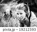 女性 ハイカー 山登りの写真 19212393