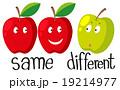 りんご アップル リンゴのイラスト 19214977