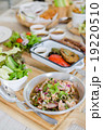 Thai style hot and spicy salmon salad 19220510
