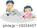 砂場遊び 19224457