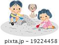 砂場遊び 19224458