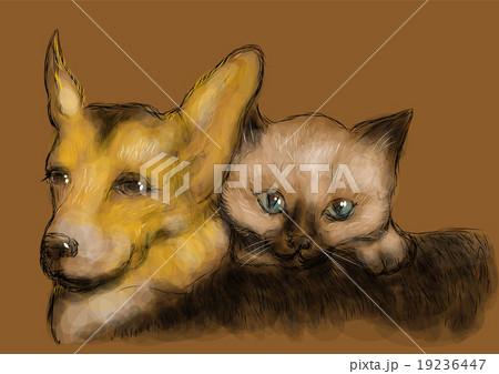 funny animalsのイラスト素材 [19236447] - PIXTA