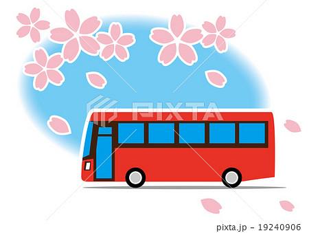 桜 バスで巡る観光 19240906