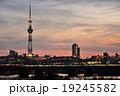 荒川 夕焼け 東京スカイツリーの写真 19245582