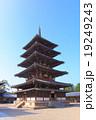 法隆寺 五重塔 19249243