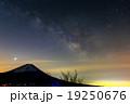 富士山と夏の天の川(竜ヶ岳から) 19250676