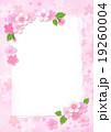 桜 カード ポストカードのイラスト 19260004