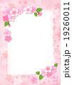 桜 カード ポストカードのイラスト 19260011