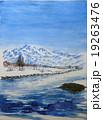 鳥海山のスケッチ 19263476