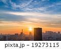 【東京】夕暮れ・都市風景 19273115