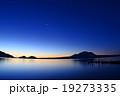 支笏湖から見えた明けの明星 19273335