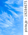 背景素材 巻雲 筋雲の写真 19284675