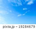 背景素材 巻雲 筋雲の写真 19284679