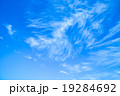 背景素材 巻雲 筋雲の写真 19284692