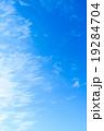 背景素材 巻雲 筋雲の写真 19284704