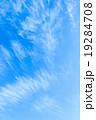 背景素材 巻雲 筋雲の写真 19284708