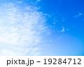 背景素材 巻雲 筋雲の写真 19284712