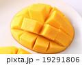マンゴー キューブカット 果物の写真 19291806