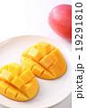 マンゴー キューブカット 果物の写真 19291810