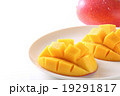 マンゴー キューブカット 果物の写真 19291817