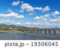 嵐山 秋の渡月橋 19306045