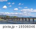 嵐山 秋の渡月橋 19306046