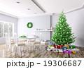 クリスマス 空間 部屋のイラスト 19306687