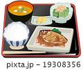煮魚 定食 魚料理のイラスト 19308356