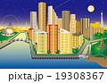 架空都市夜景 19308367