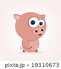 Cartoon Pig 19310673