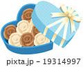 チョコレート バラ 詰め合わせのイラスト 19314997