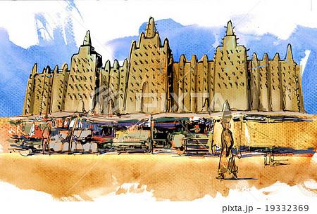 マリ-ジェンネの大モスク 19332369