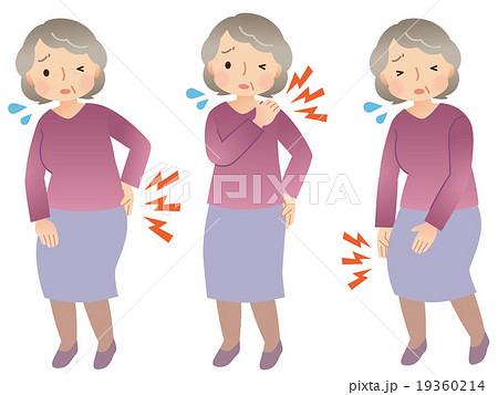 高齢者 身体の痛み セット 19360214