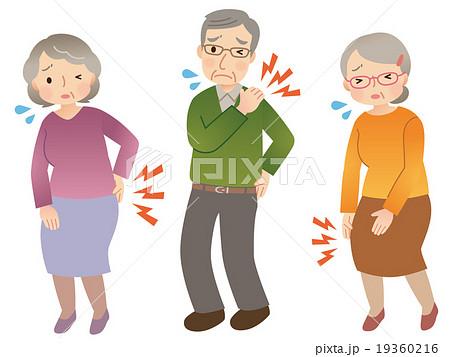 高齢者 身体の痛み セット 19360216