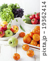 Fresh fruits, vegetables and herbs variety 19362414