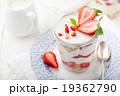 Strawberry tiramisu, trifle, custard dessert 19362790