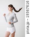 女性 フィットネス ランニングの写真 19367616