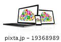 クラウド クラウドコンピューティング コンピューティングのイラスト 19368989
