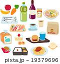 食品、いろいろな種類のセット 19379696
