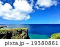 沖縄の青い海(万座毛) 19380861