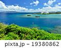 沖縄の青い海(万座ビーチ) 19380862