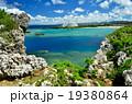 沖縄の青い海(万座ビーチ) 19380864