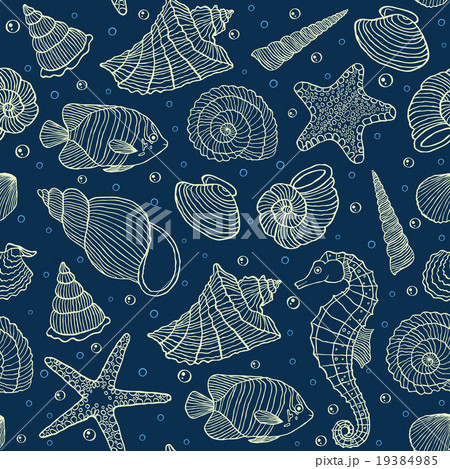 ocean inhabitantsのイラスト素材 [19384985] - PIXTA
