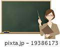 女性(OL)の講師 19386173