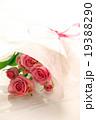 バラ 薔薇 ブーケ プレゼント ギフト 花束 愛 プロポーズ ウエディング 桃色 お祝い ローズ  19388290